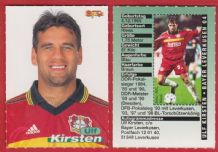Bayer Leverkusen Ulf Kirsten Germany 2
